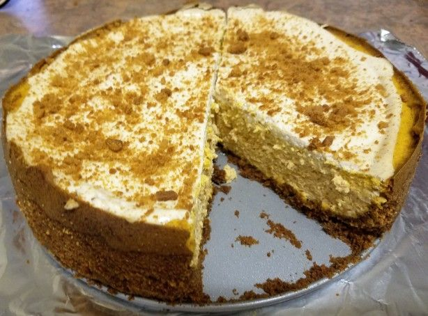 This cheesecake is a difficult to find at The Olive Garden because they only have it during the fall.