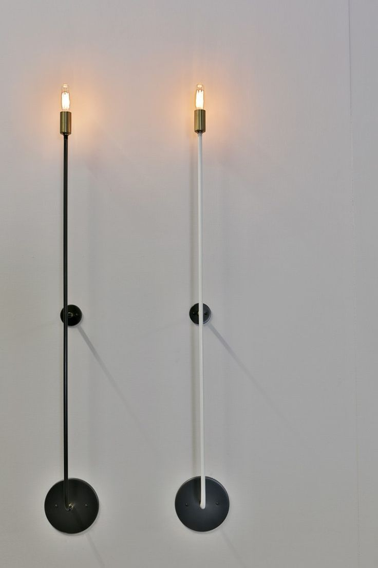 Buy Skinny Sconce by John Beck Paper & Steel - Made-to-Order designer Lighting from Dering Hall's collection of Contemporary Rustic / Folk Industrial Mid-Century / Modern Transitional Wall Lighting.