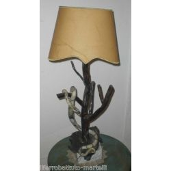 Wrought Iron Table Lamp. Customize Realizations. 499