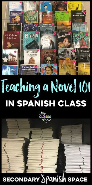 Teaching a Novel 101 | Secondary Spanish Space