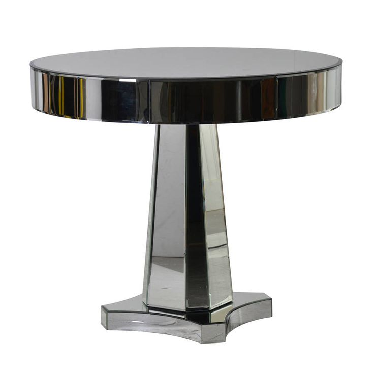Are you interested in our mirrored side table? With our round mirrored table you need look no further.