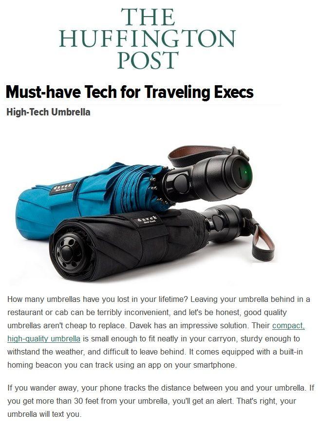 Davek in The Huffington Post. Impressive solutions