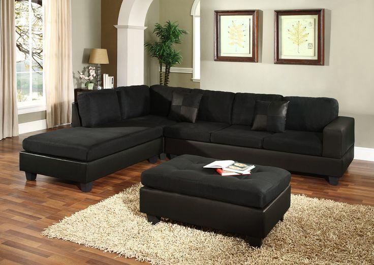 Black Sectional Couches : black sectional couch - Sectionals, Sofas & Couches