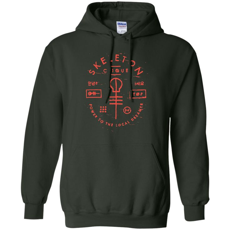 power to the local dreamer-01 Pullover Hoodie 8 oz