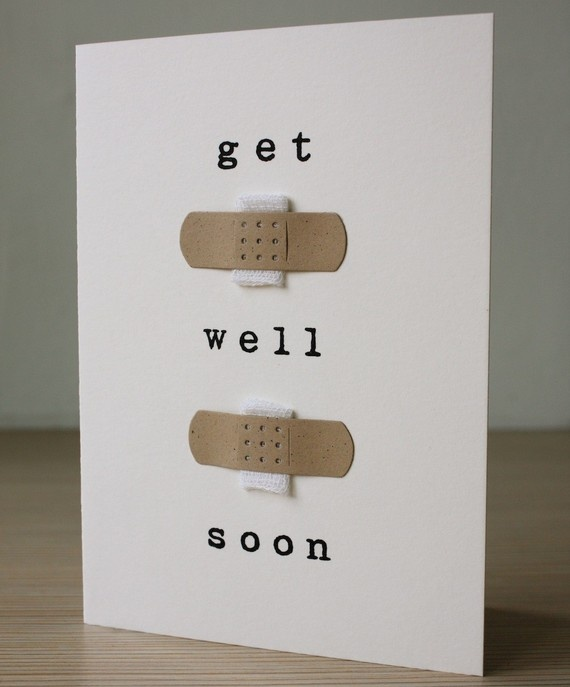 Get Well Soon Card by aruricards on Etsy | DIY & Crafts ...