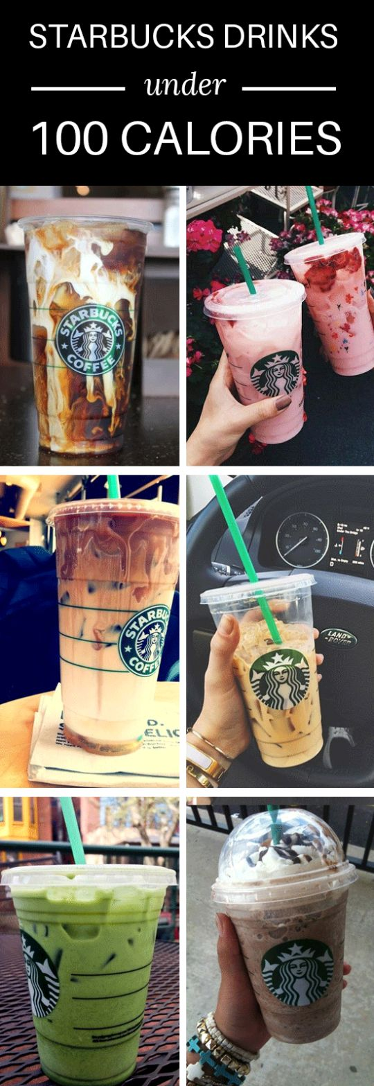 10 Delicious Starbucks Drinks Under 100 Calories