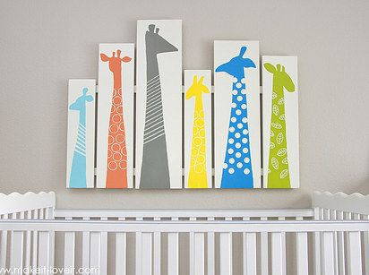 Vertical Wooden Slat Wall Art | 19 Ingenious Ways To Decorate Your Small Space