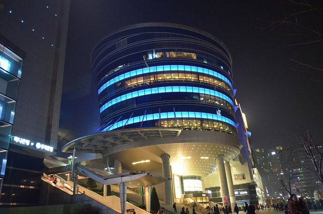 I'Park Mall at Yongsan. Most confusing mall ever, lol