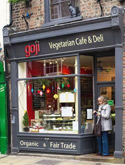 Vegetarian & Vegan Restaurant Cafe & Deli | Goji Cafe York