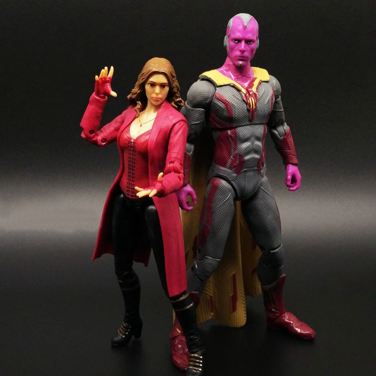 Captain America 3 Scarlet Witch Vision Civil War Avengers MARVEL Movable Action Figures //Price: $30.28 & FREE Shipping //     #actionfigure