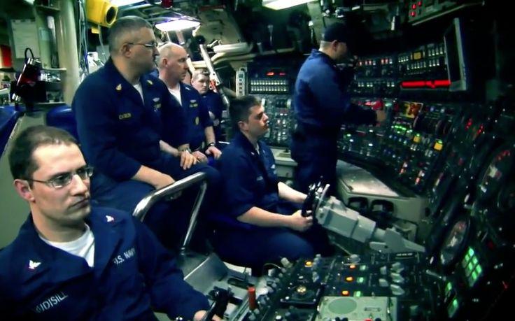 USS Pennsylvania control room | Submarines | Pinterest ...