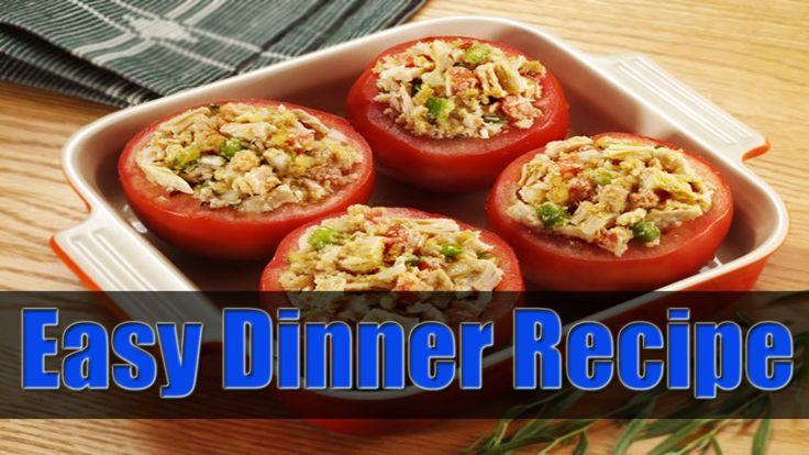 Easy and Quick Dinner Recipes With Ideas at Home By HealthyFoodsLand