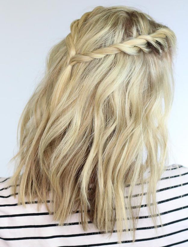 Twisted Braids | Stylish Back to School Hairstyles for Short Hair