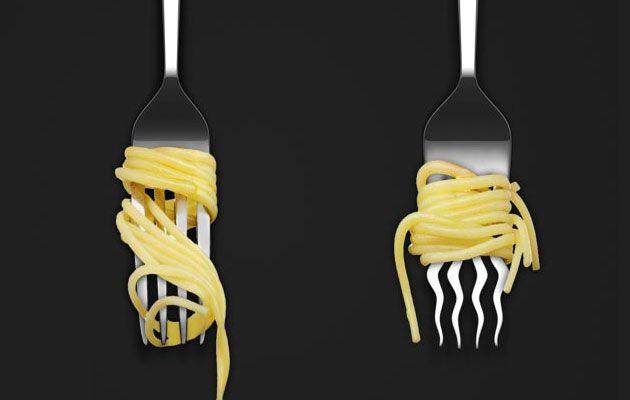Ob Carbonara, Bolognese oder Vongole - Spaghetti & Co. isst wohl jeder von uns gerne. Wer wie ich den Löffel lieber weglässt, hat beiden meisten Gabeln immer ein Problem: Sie halten die Spaghetti nicht richtig. Dieses Konzept vonDamjan Stankovic aus Belg