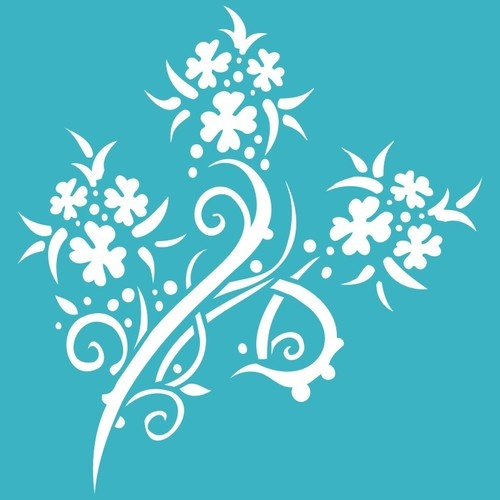 47 best stencils images on Pinterest Wall stenciling Drawings