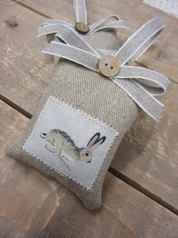 lavender hanger sophie allport hare patch. Ideal easter gift .
