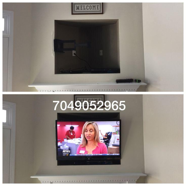 #tvmounting #tvinstallation #freetvmounts #infinitedesigns #tvmountcharlotte  #hometheater #charlotte #4ktv #flatscreen #hangtv #mounttv #tvmount #howto #tvwiring www.tvmountcharlotte.com