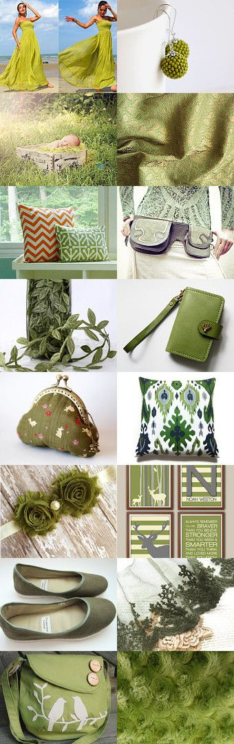 olive green by Maggie Davis on Etsy--Pinned with TreasuryPin.com
