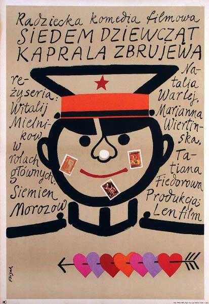 1971 Jerzy Flisak - Siedem dziewczat kaprala Zbrujewa