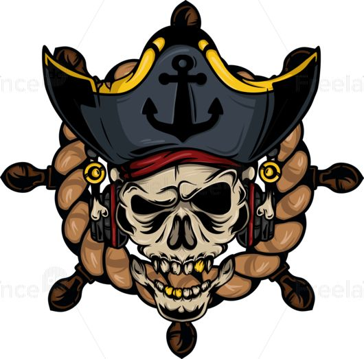 Pirate theme. Tattoo. #pirate #tattoo #game #sea #anchor #skull #graphics #freelancediscount Buy Image for $ 10.