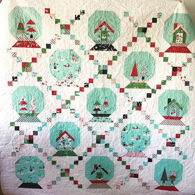 35 best My Christmas Quilts images on Pinterest | Christmas ideas ... : globe quilt - Adamdwight.com