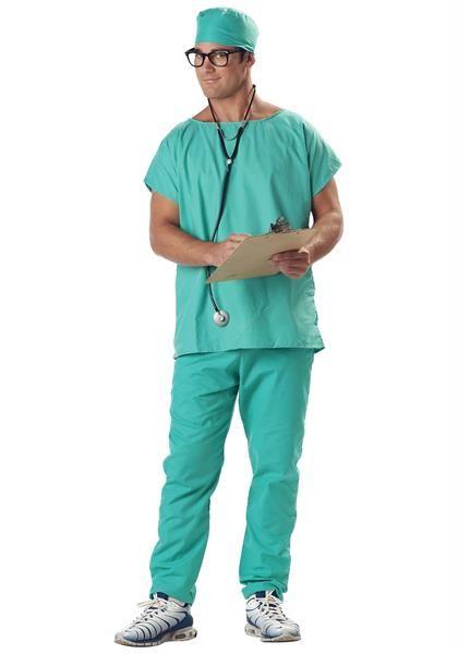 Бирюзовая рубашка врача