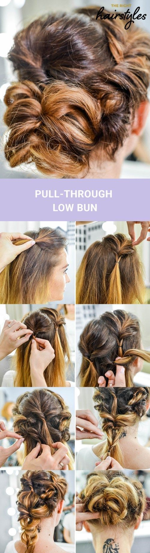 3 beautiful rolls Hairstyles for fine hair # Buns #Fine #Hairstyles #for ... - # Buns