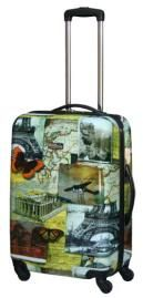 National Geographic Collage 24 Inch Hardside Spinner  - Hard Sided Travel Bags