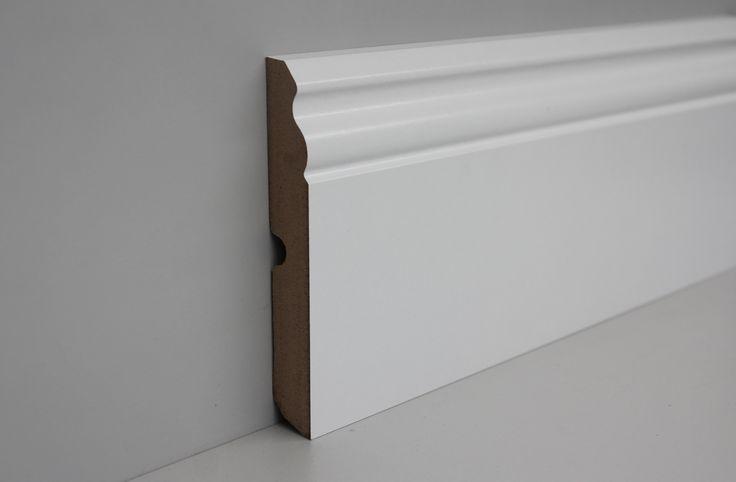 Battiscopa bianco MDF, ondulato, 70mm. Disponibile anche con altezze 80, 100, 120 mm http://www.profiles24.it/965/battiscopa-bianco-70mm-mdf-ondulato?c=4527