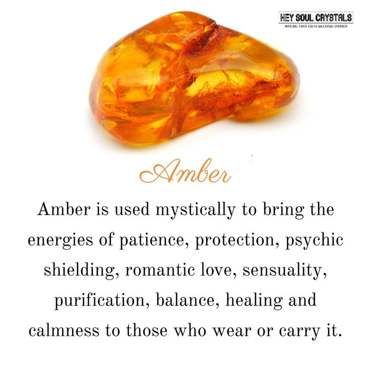 Amber Stone Meaning