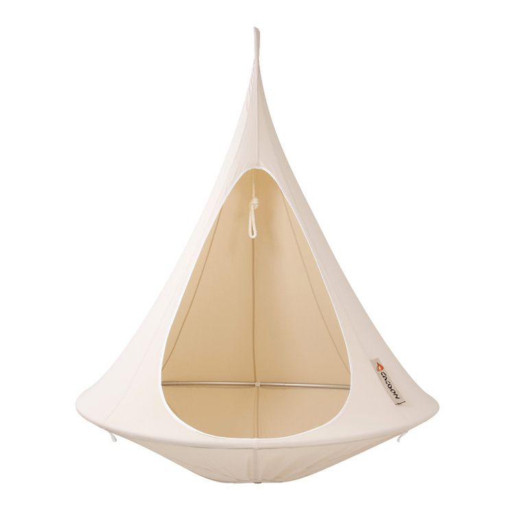Discover the Hang-In-Out Single Cacoon - Natural White at Amara