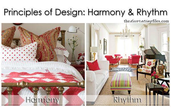 Principles of design harmony rhythm one of the basic - Harmony in interior design ...