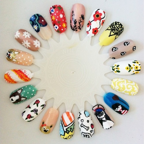 17 Best Nails Wheels Images On Pinterest Ideas Nail Art Wheel And