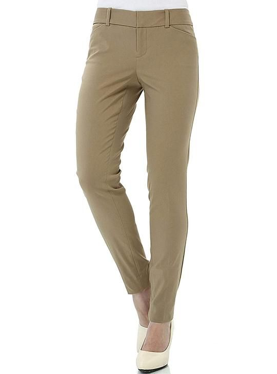 special price for hot-selling real united states Women's Office Pants Casual Slim Fit Super Stretch Comfy ...