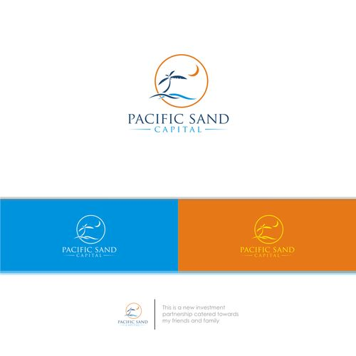 Pacific Sand Capital �20Create a logo for my new investment partnership (Pacific Sand Capital)