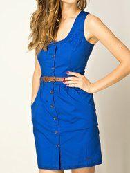 Pepe Jeans modré dámské šaty Pimpinel