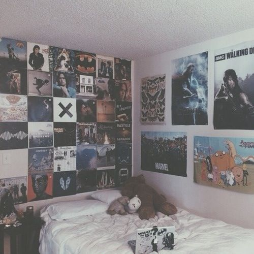 find this pin and more on hipsteremoposter room ideas - Emo Bedroom Designs