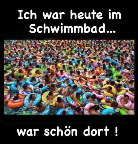Schwimmbad #derneuemann #humor #lustig #spaß