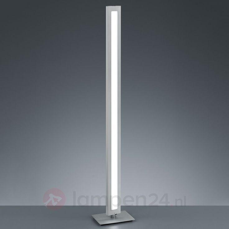 Puristisch ontworpen LED staande lamp Silas veilig & makkelijk online bestellen op lampen24.nl