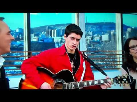 David Thibault - Are You Lonesome Tonight?.  This young man is French-Canadian and Wow!