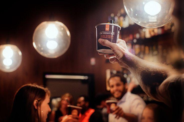 THE ICE CREAM BAR | ALCOHOLIC ICE CREAM AND SORBET