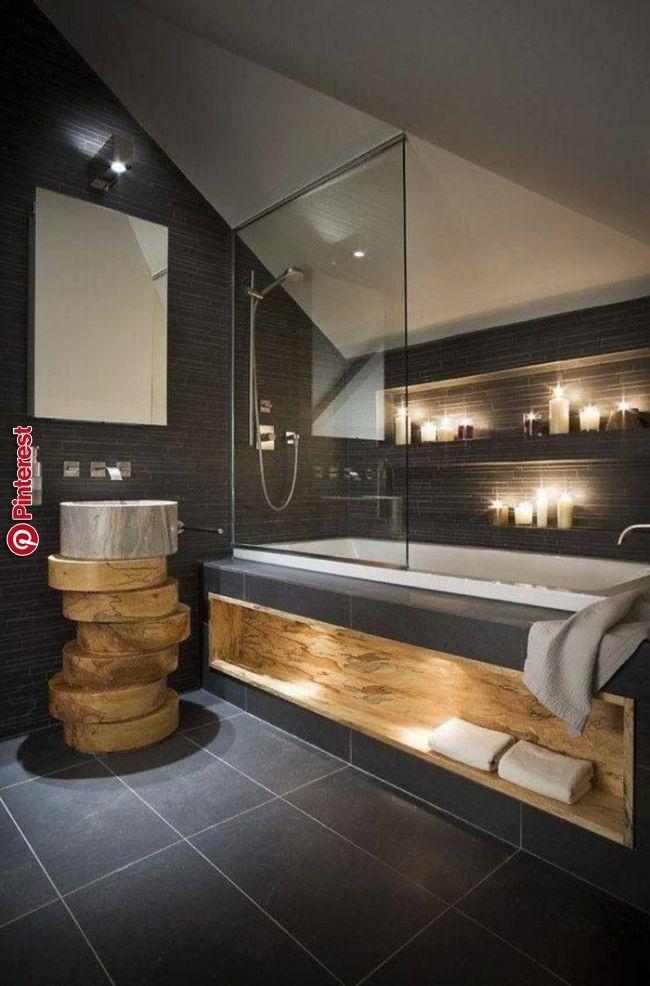 Interessante Gestaltung Von Badezimmer Mit Moderner Duschkabine Badezimmer Moderne Kleine Bader Badezimmer Gestalten Kleine Badezimmer Design
