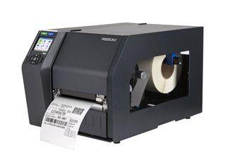 """Printronix T83X4-1100-1 Printronix T8304 Thermal Transfer PRINTER, 4"""" Printable width, 300Dpi Resolution, Serial RS232/USB 2.0/Printnet 10/100 Base T Interfaces, Online Data Validation. Standard emulations (pgl, vgl, zpl, tgl, IPL, stgl, DPL). 512MB Ram. 128MB Flash."""