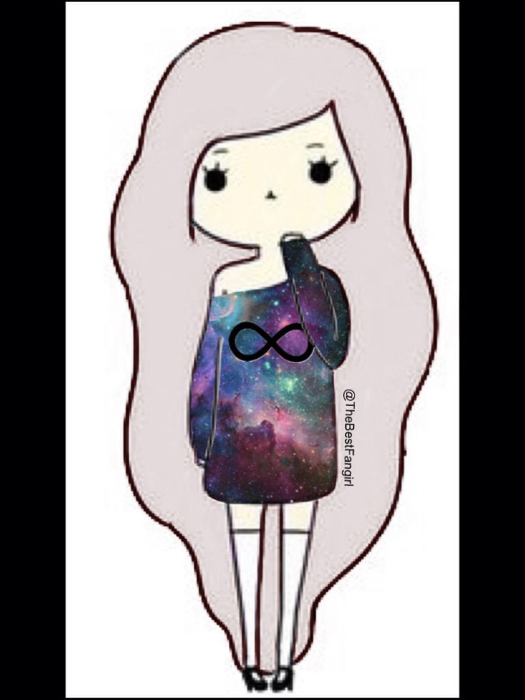 Galaxy shirt infinity Chibi girl (credit to @TheBestFangirl)
