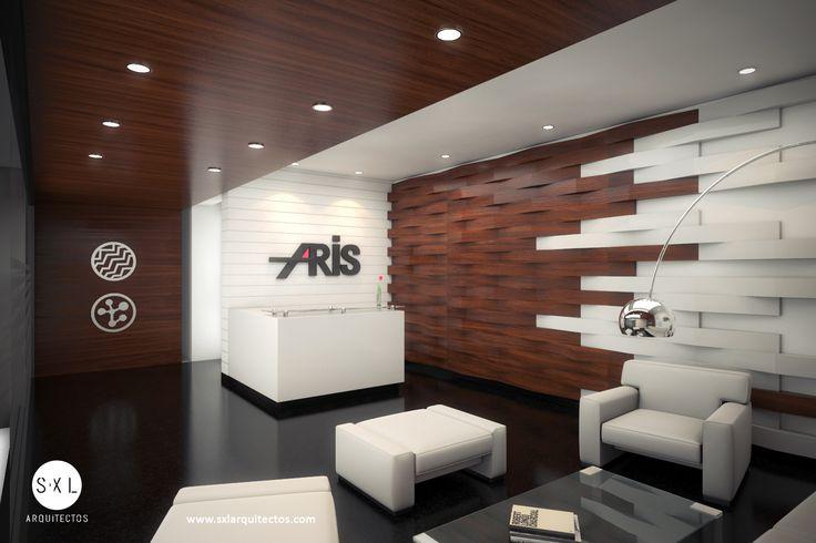 Hall recepci n oficinas aris dise o de s xl for Diseno de interiores oficinas modernas