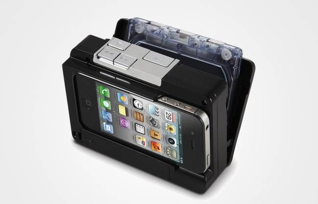 The Cassette To iPhone Converter To Digitize Your Tapes, $79.95Technology, Ipod Touch, Cassette Tape, Ipods Convertible, Iphone Convertible, Hammacher Schlemmer, Ipods Touch, Products, Tech Gadgets