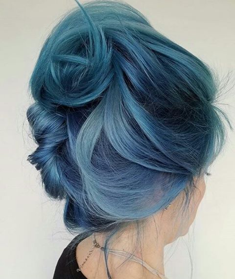 That's what my hair color is currently