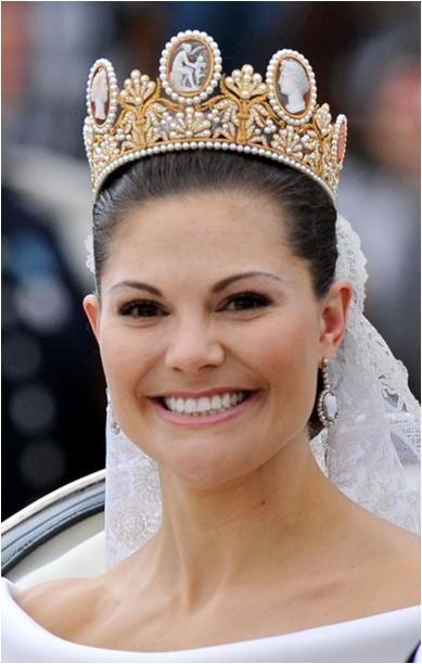 The Royal Order of Sartorial Splendor: Readers' Top 10 Wedding Gowns: #1. Crown Princess Victoria of Sweden