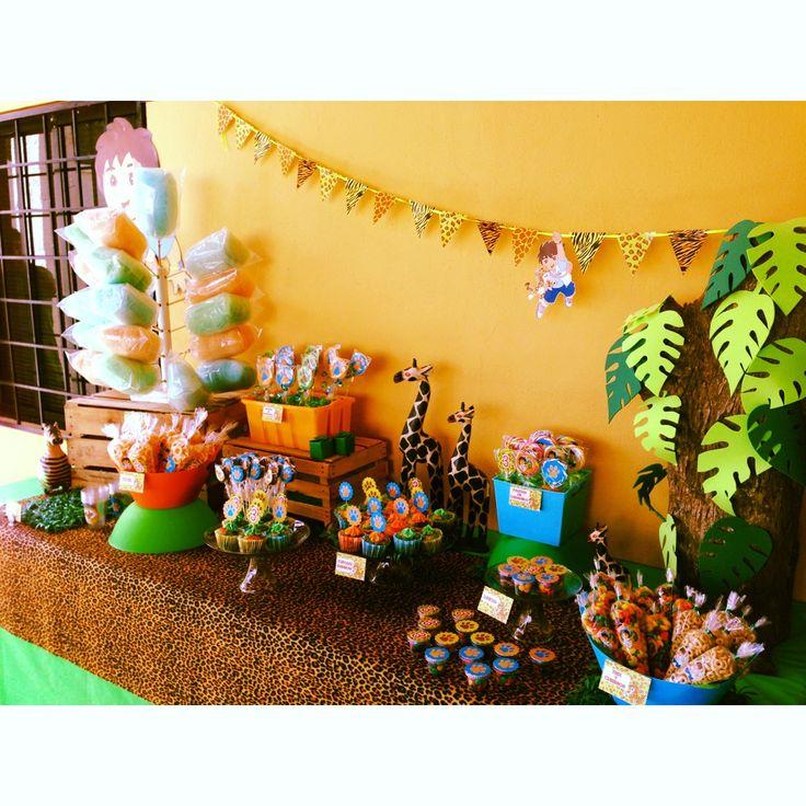 Go Diego Go! Diego Party Candy Bar