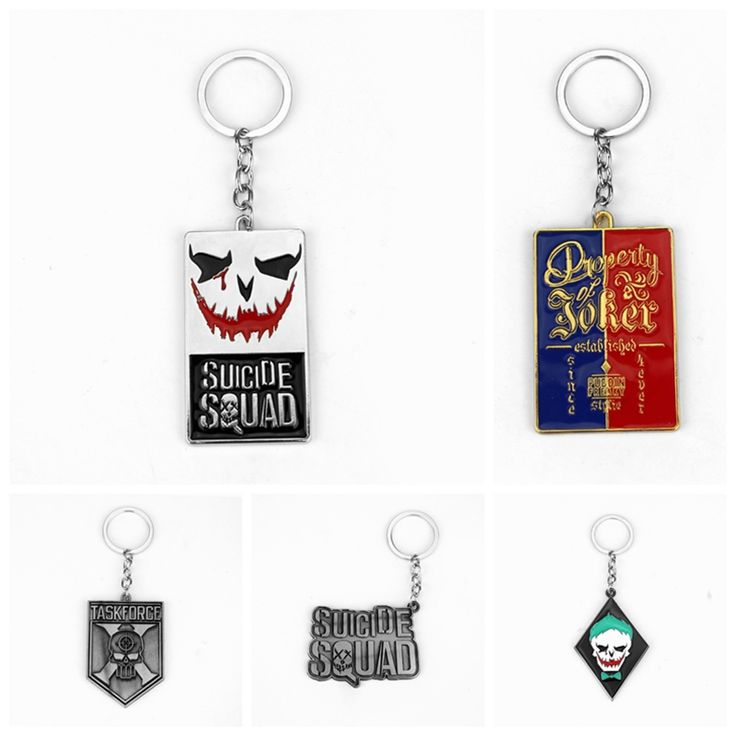 Suicide Squad New Anti-Hero Design Keychain